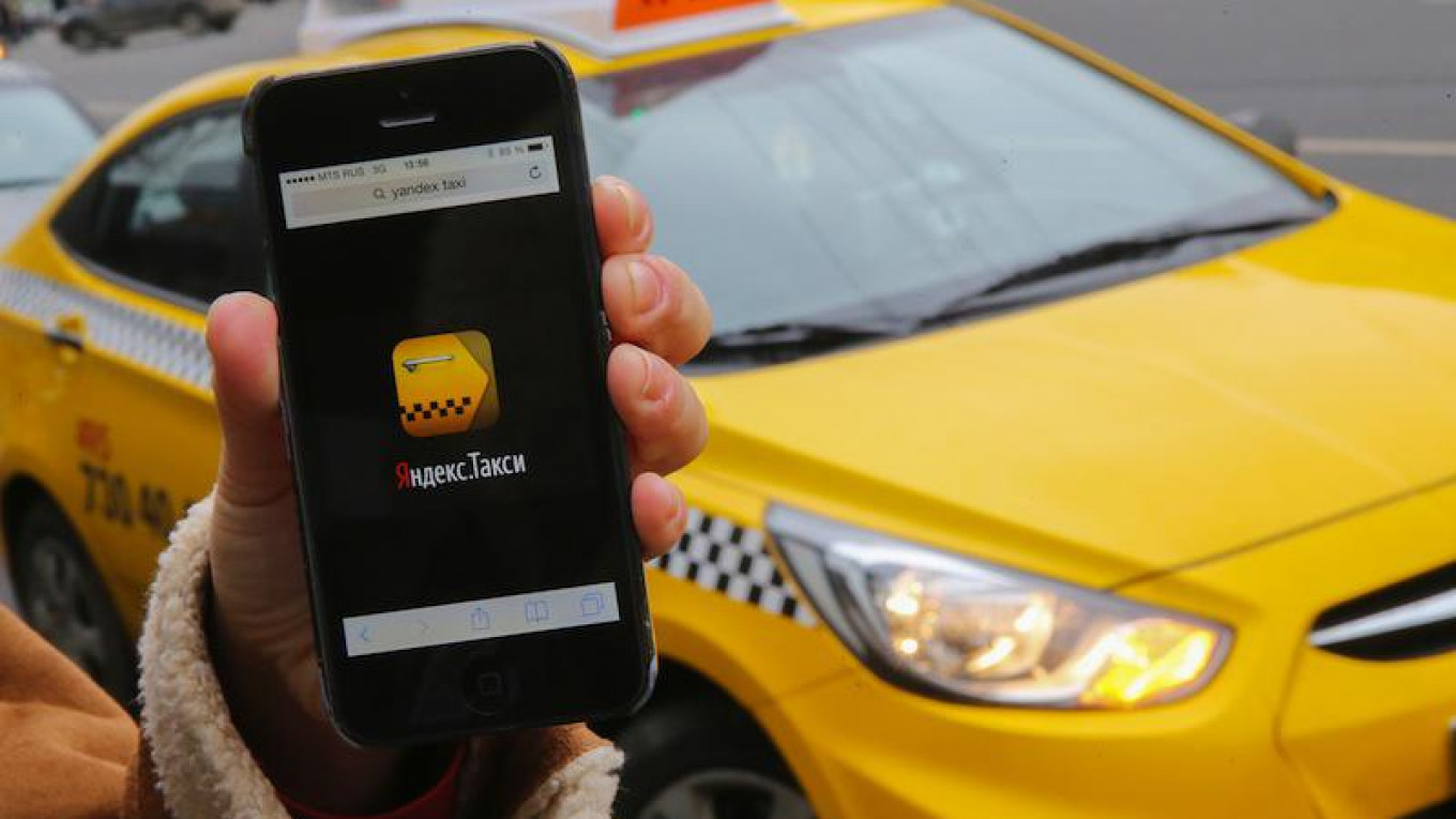 Moscow Taxi Drivers to Boycott Yandex Taxi