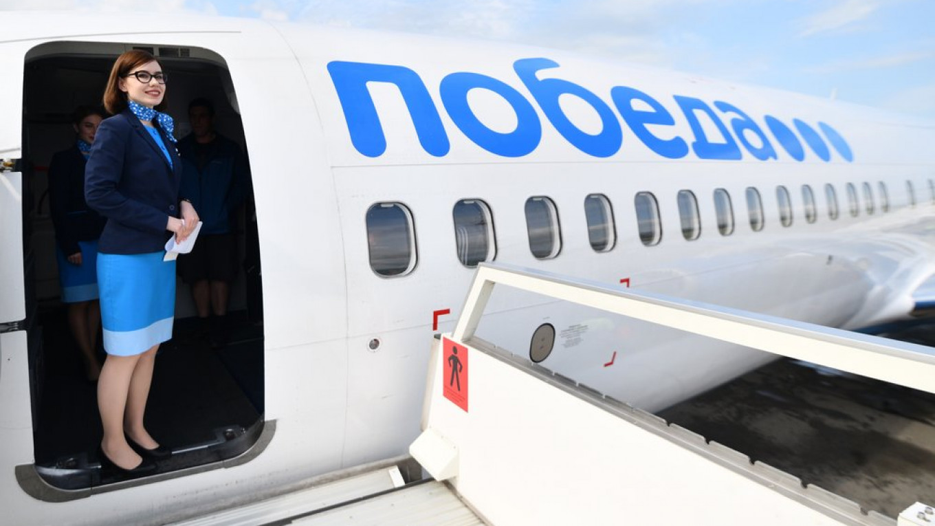 Pobeda Named Europe's Fastest-Growing Airline