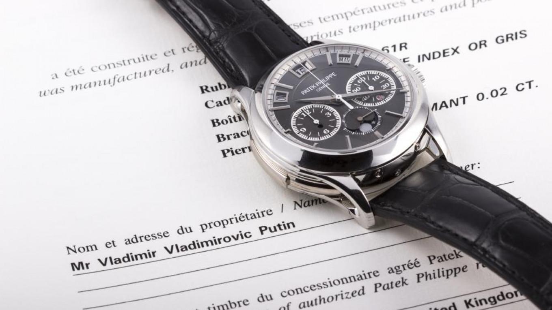 Rare  Putin Watch  Fetches More Than  1 Mln at Monaco Auction 1ae5553d44