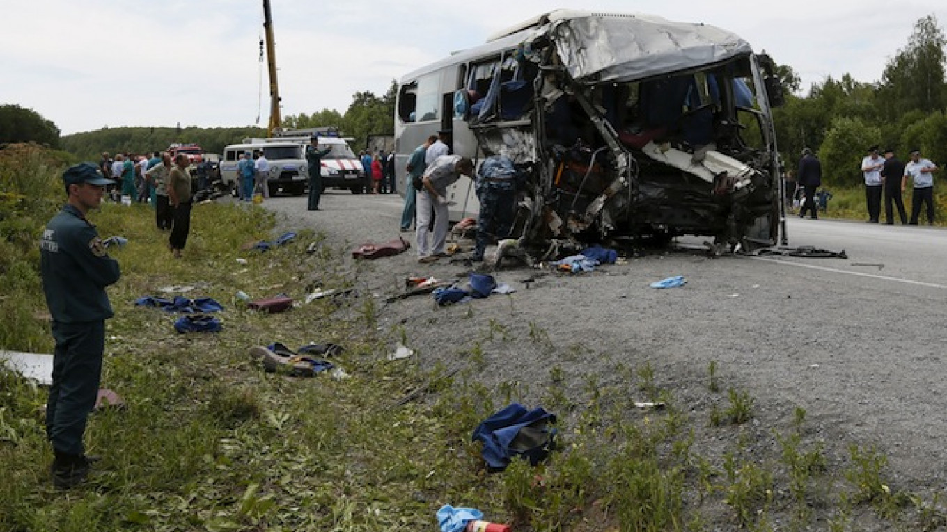 5 Major Road Accidents That Shocked Russia This Summer