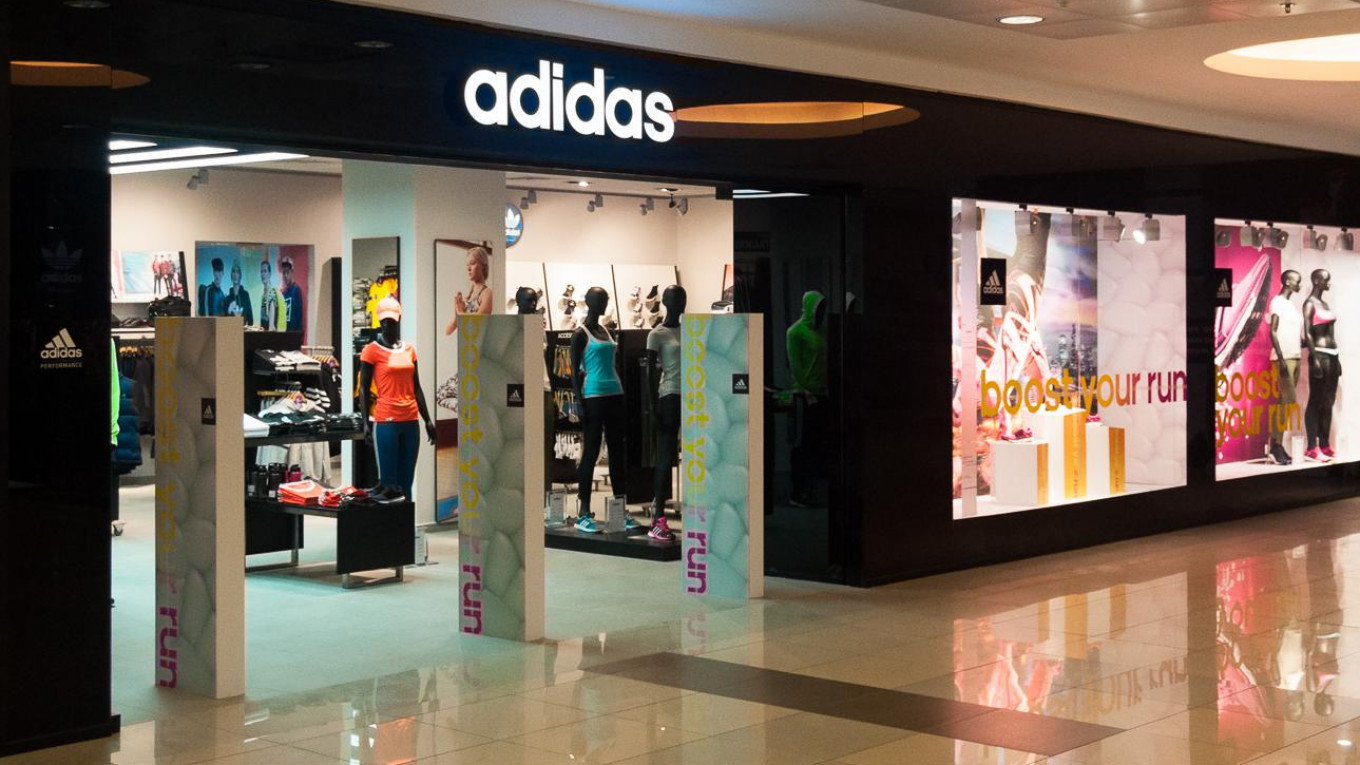 65462a4df9ddf6 Adidas Closes More Stores in Russia as Sales Shrink