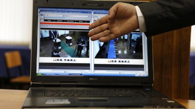 Election Webcam Installation Begins