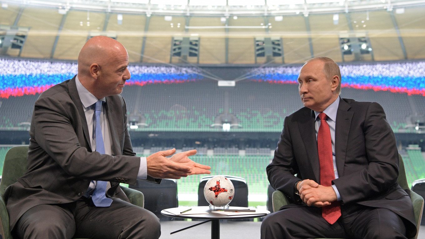 Kremlin Denies Plan To Ban Foreign Players From Russian Football