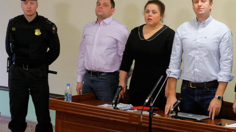 Navalny Gets Suspended Sentence