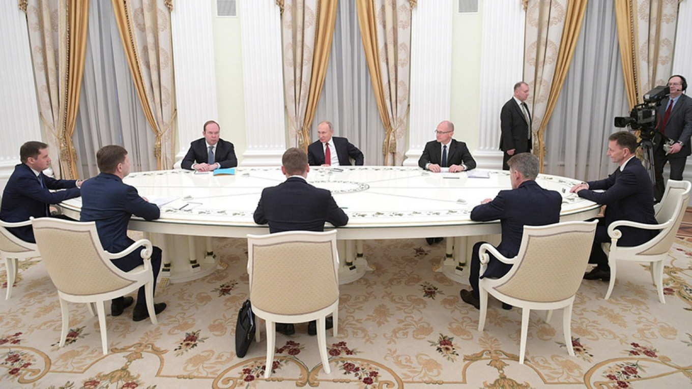 All The Tsar S Men Who Leads Russia S Regions The Moscow Times