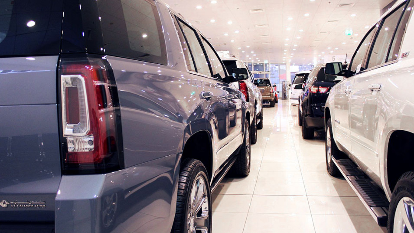 Russian Car Sales Fall in August