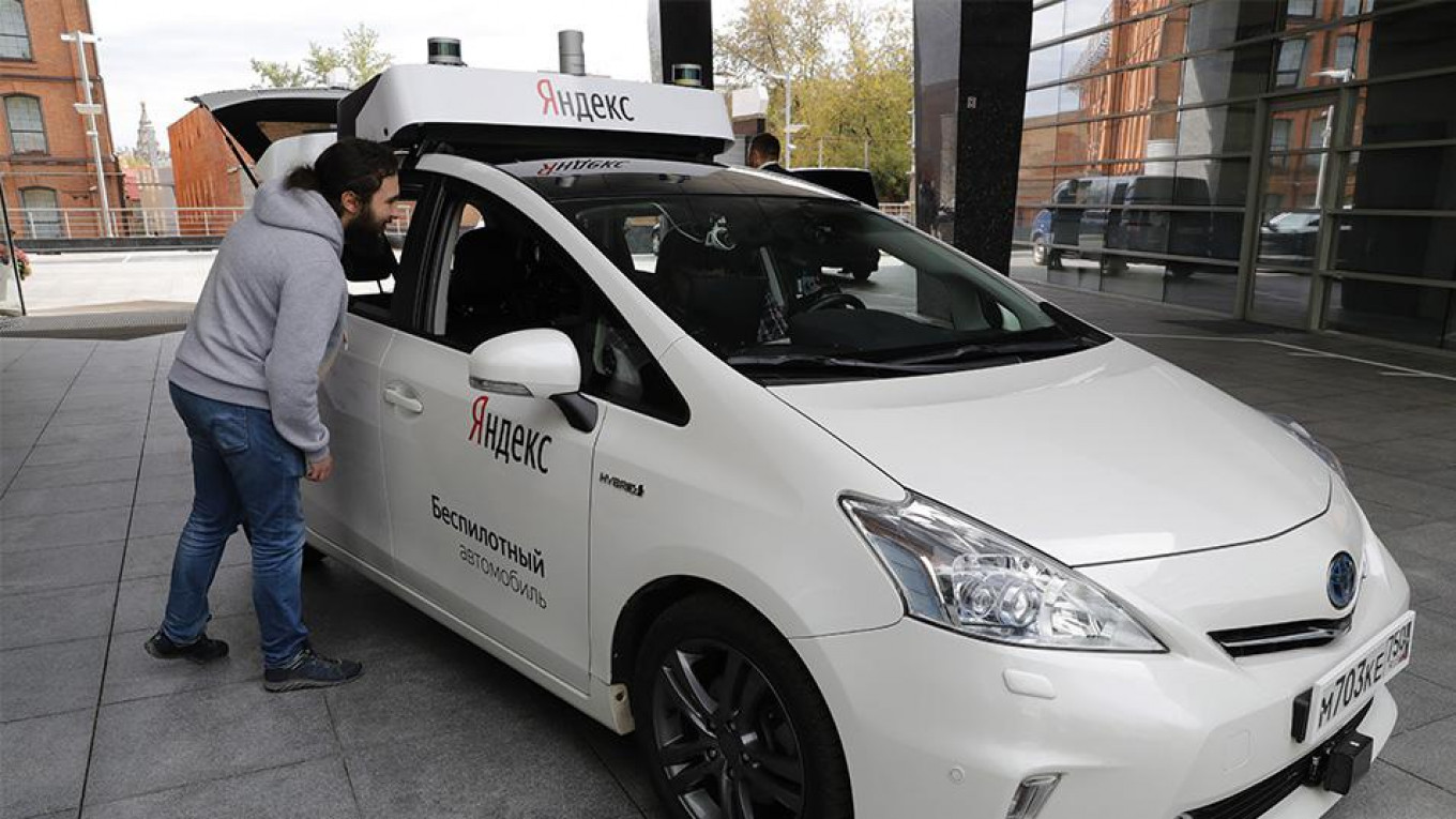 Russian Company Launches First Driverless Car in Moscow