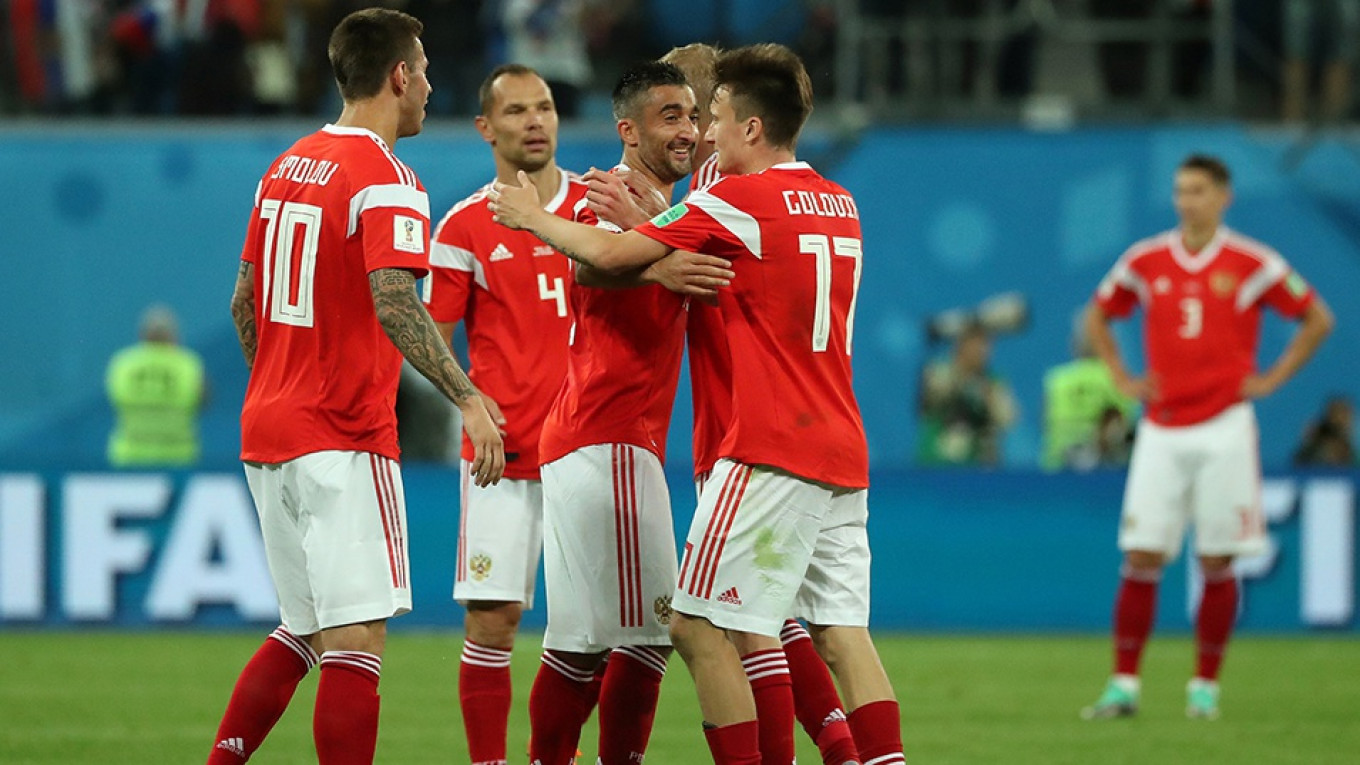 U.S. Requests Doping Tests of Russian World Cup Team
