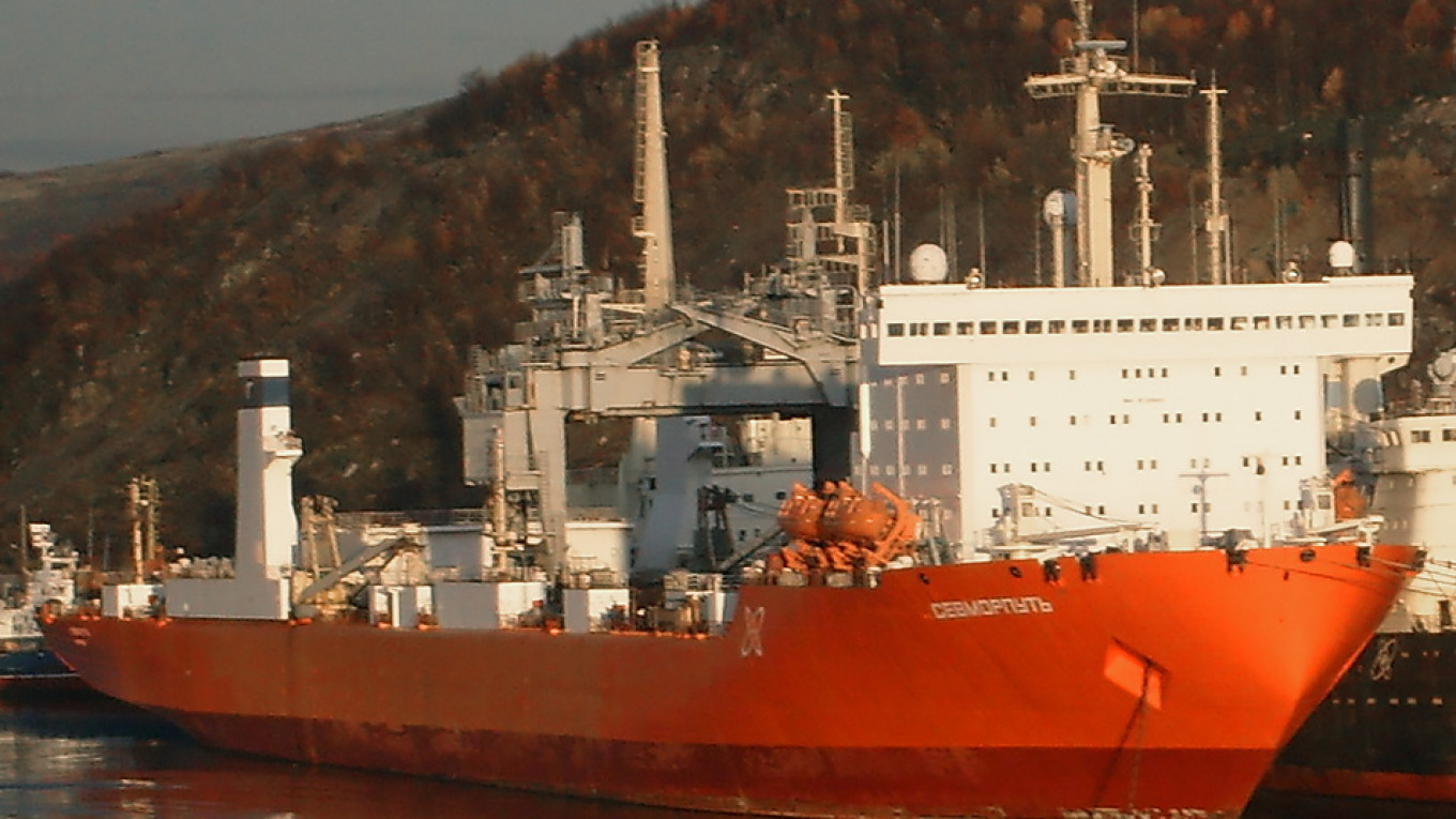 Russian Nuclear-Powered Cargo Ship Loaded With Seafood Approaches Norway