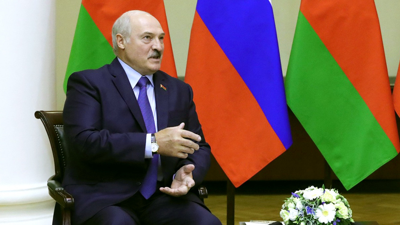 Belarus' Lukashenko Dismisses Fears Russia Could Swallow His Country