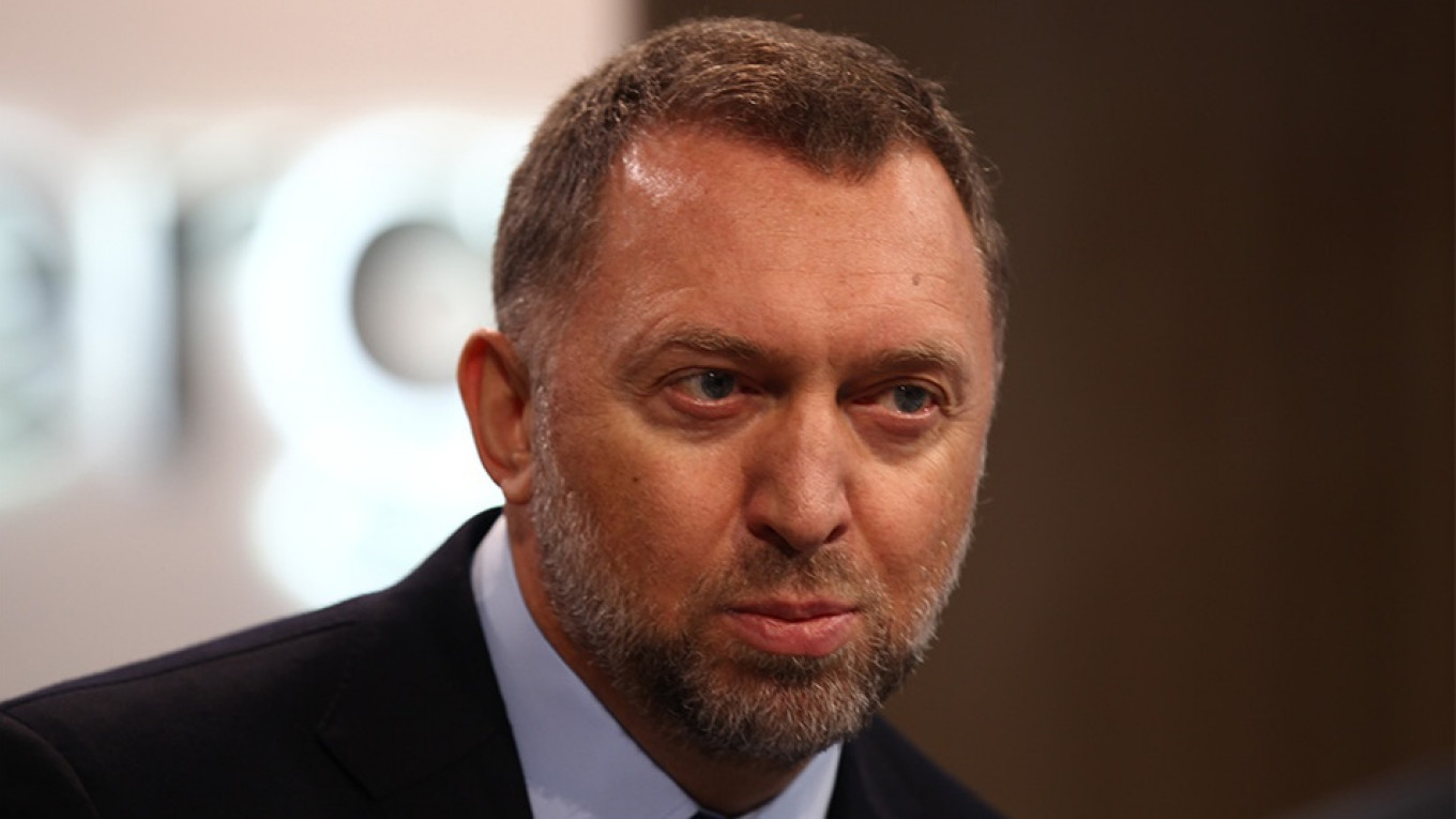 Tycoon Deripaska Sues U.S. Over Sanctions - The Moscow Times