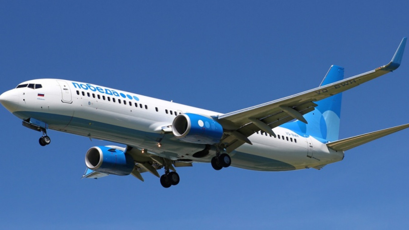 Russian Watchdog Proposes Privatizing Aeroflot's Budget Airline Pobeda