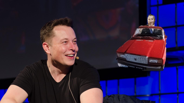 Elon Musk Challenges Russia's Rogozin to Rap Battle