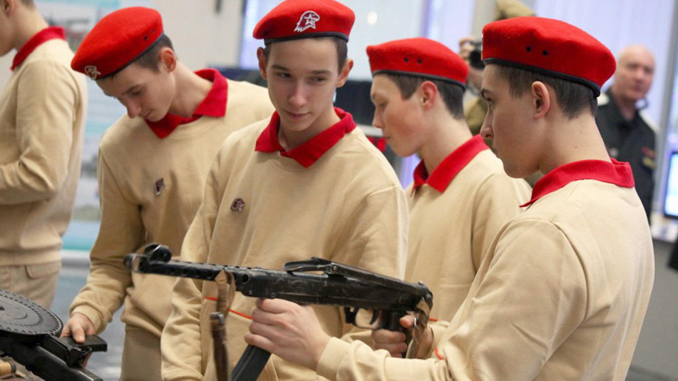 Grooming The Kiddies: Russia Plans $63M Military-Patriotic Youth Education Center 6ad0349302026ef82f780bad6f963fc1