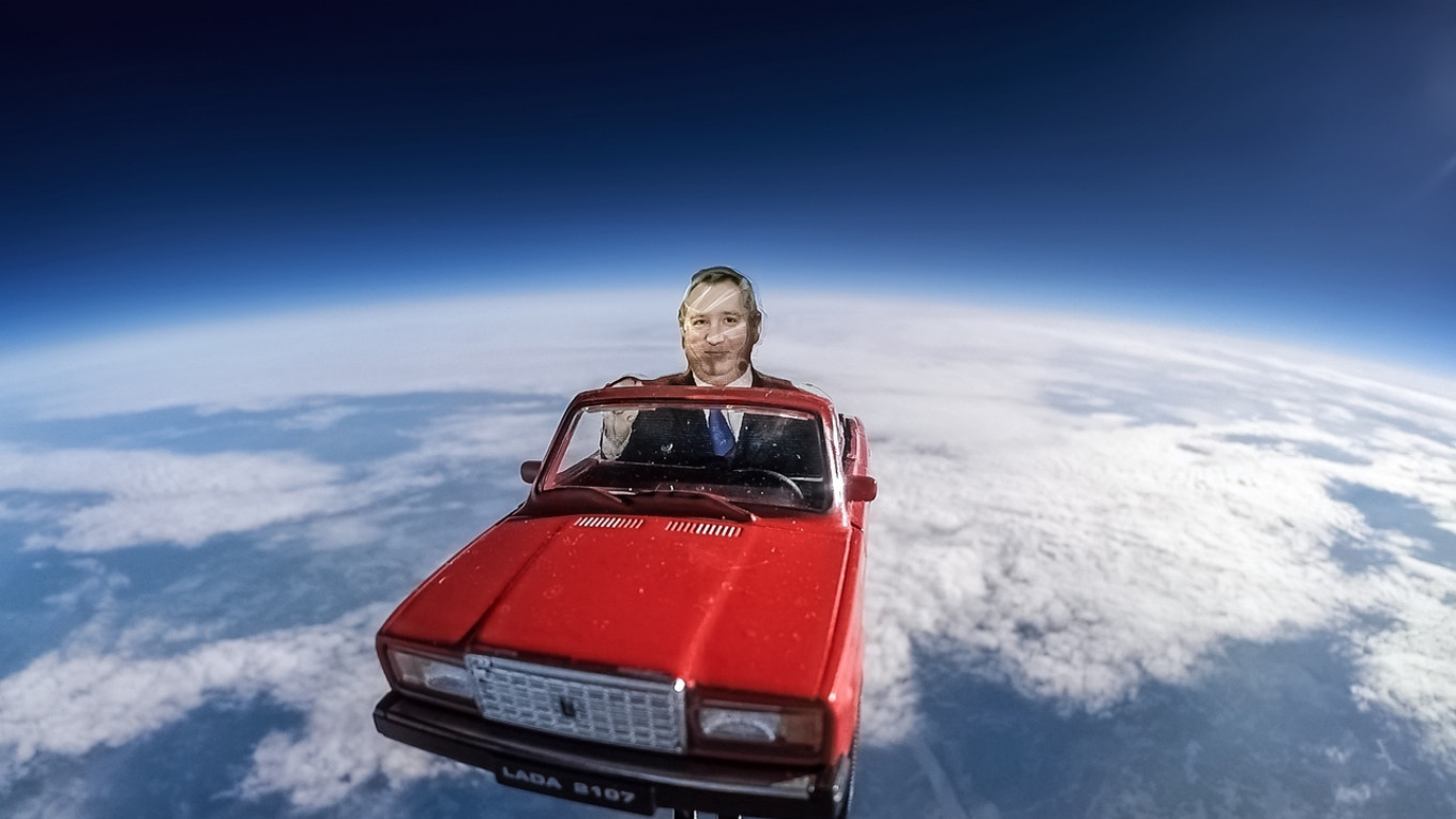 Russian Scientists Send Effigy Into Space in Toy Car, Mimicking SpaceX Launch