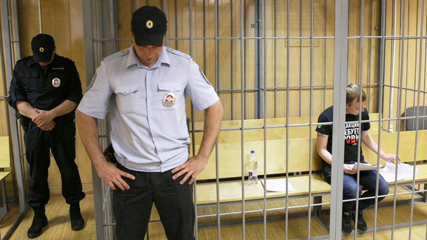 5 Moscow Police Officials Fired Over Investigative Journalist's Arrest
