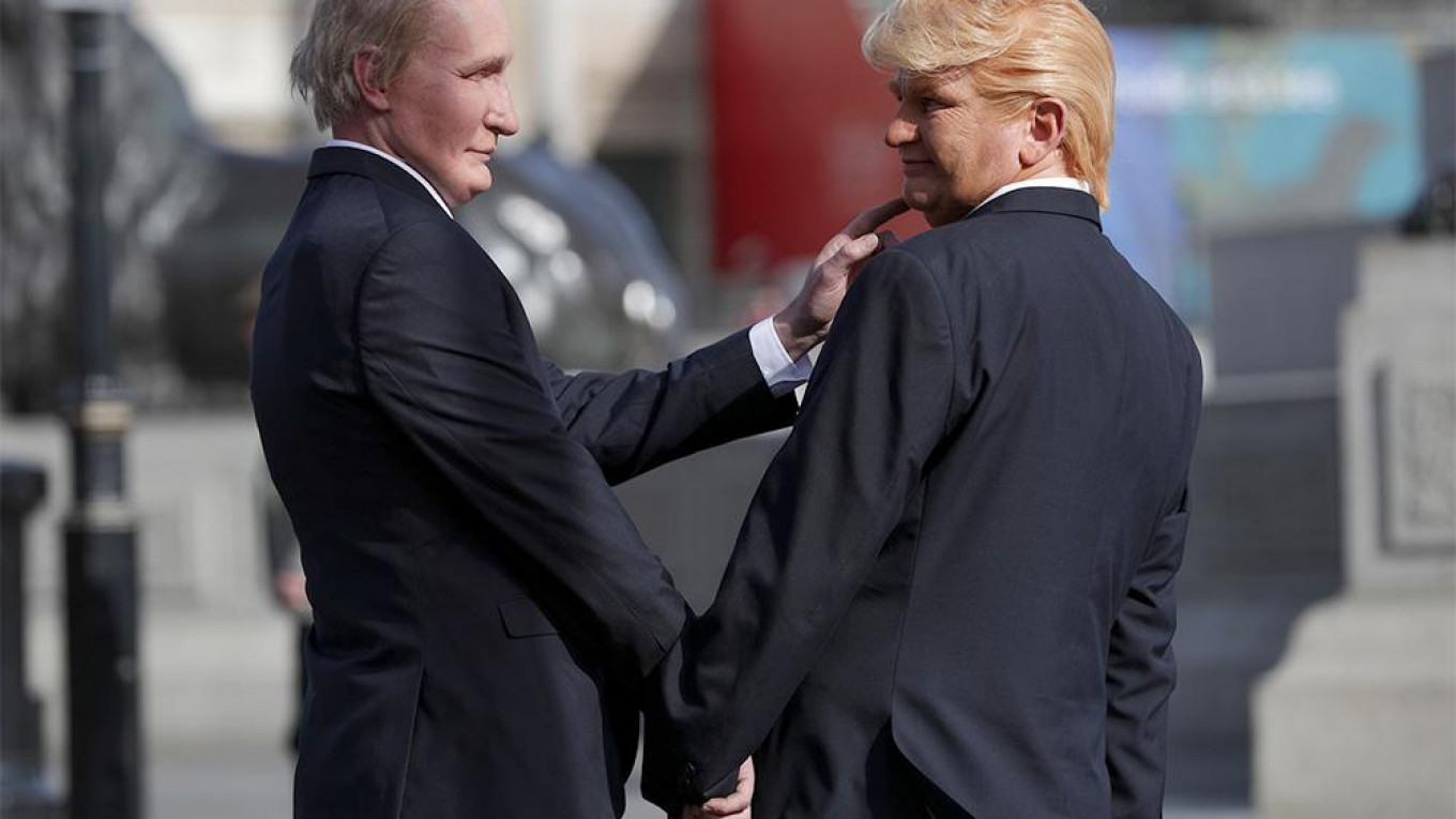 Putin Says Trump Is Not His Wife