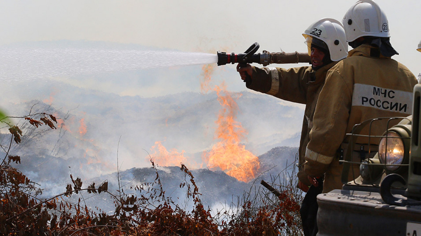 Russia's Far East Braces for Fresh Wildfires