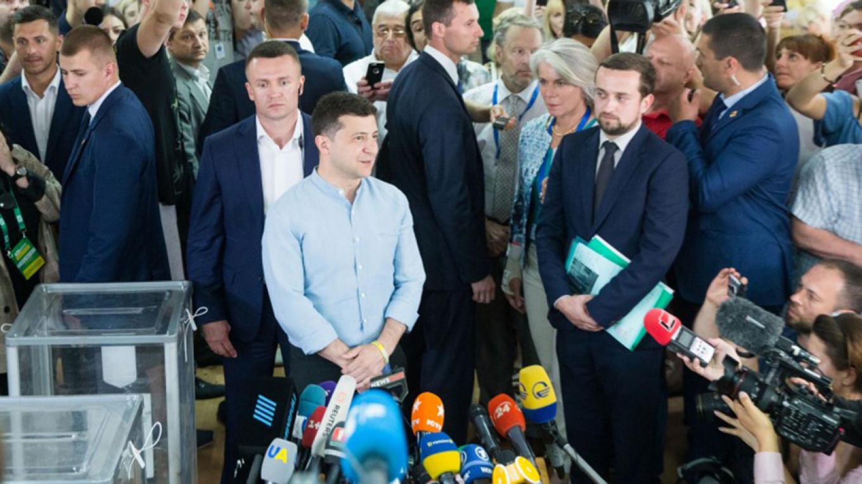 In Ukraine's Election, Zelenskiy Looks Like a Winner Again