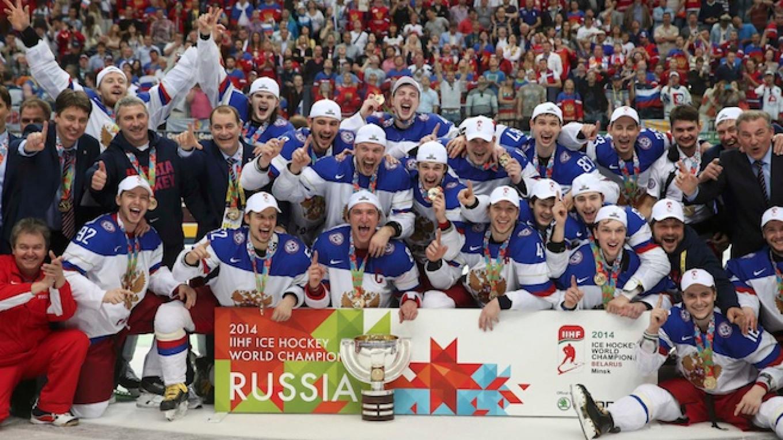 Russia Beats Finland To Win Ice Hockey World Championship