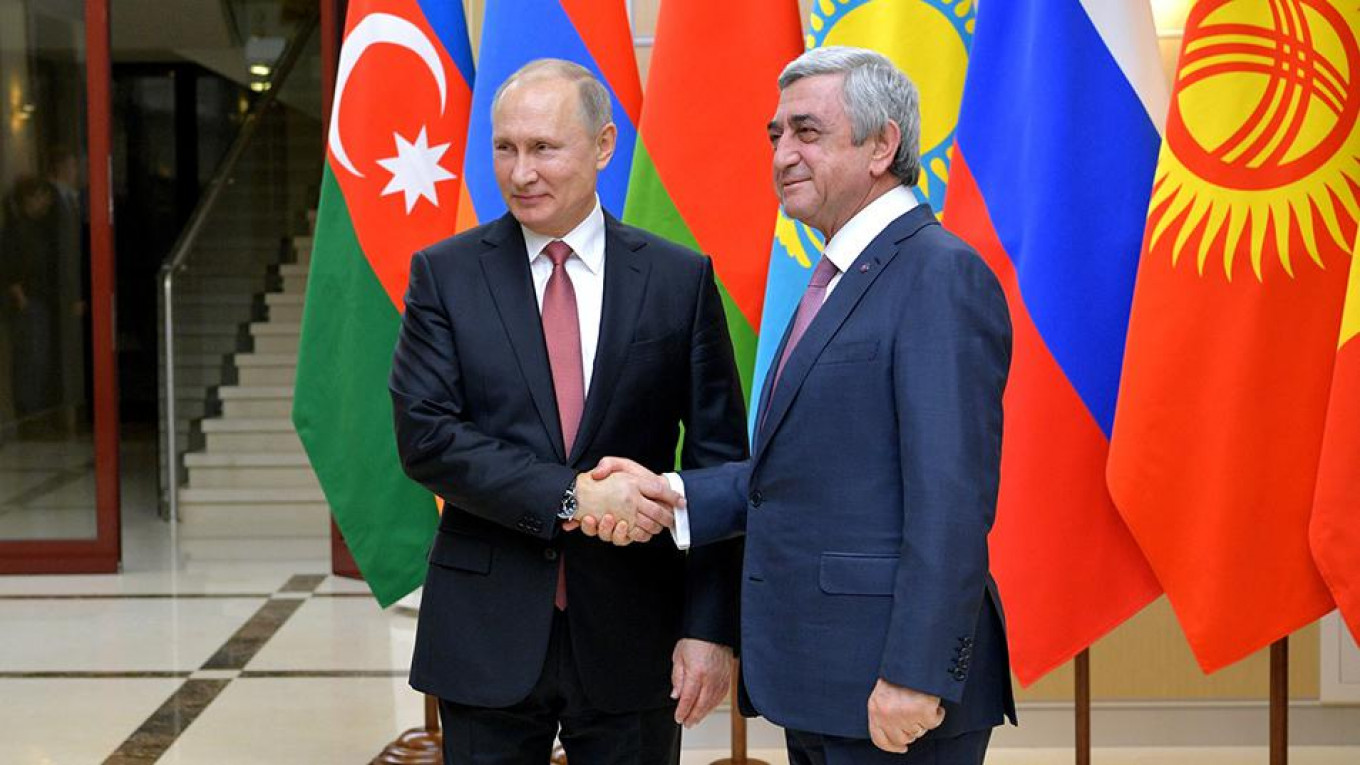 Why Hasn T Putin Intervened In Armenia Yet Op Ed