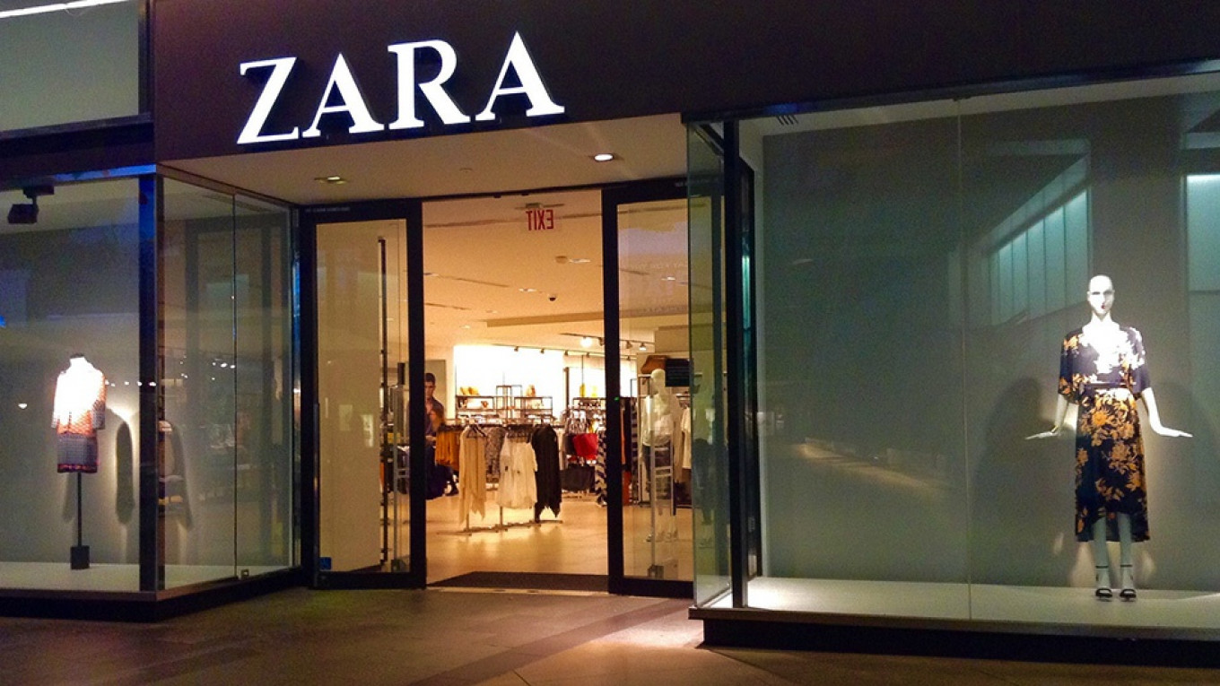 Zara Agrees on Production Deal With Russian Factory, Media