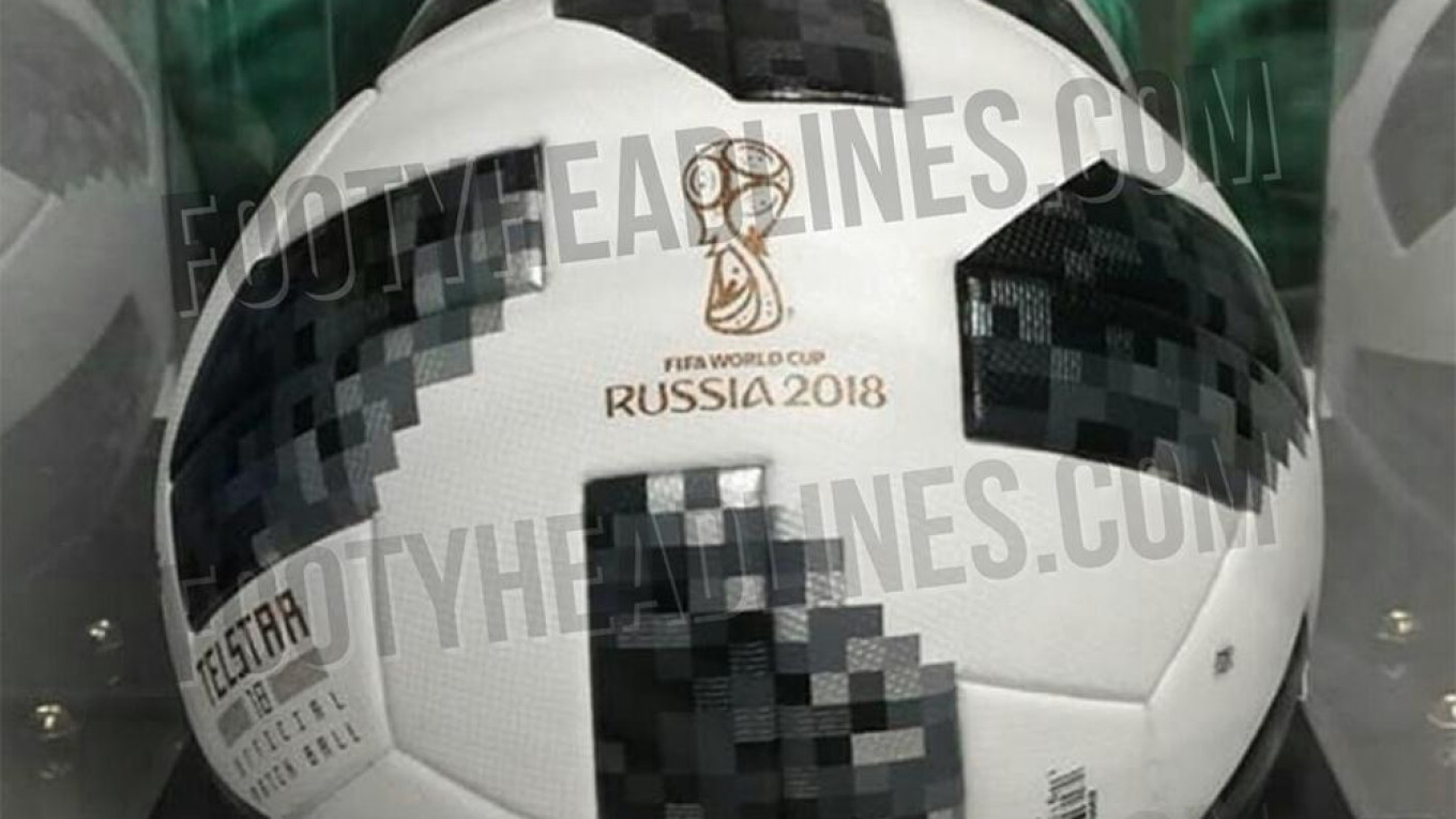 9643c3909b8 Russian World Cup Ball Designed After Famous U.S. Satellite