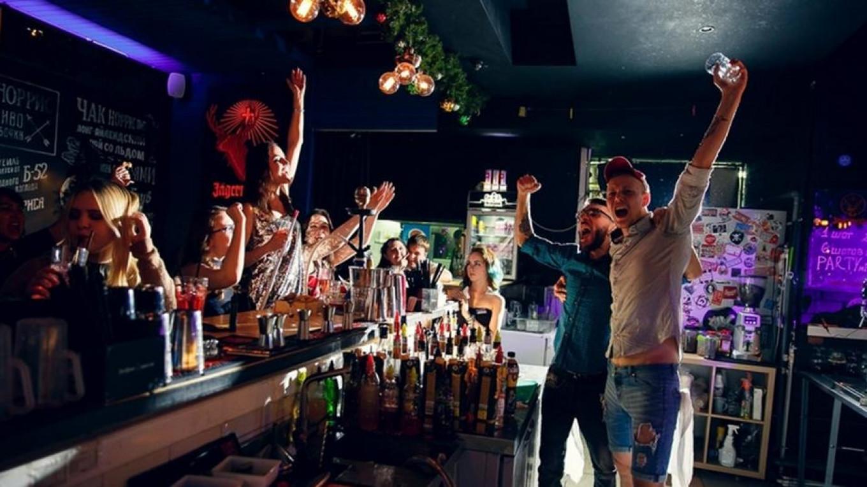 Chuck oliver strip bar