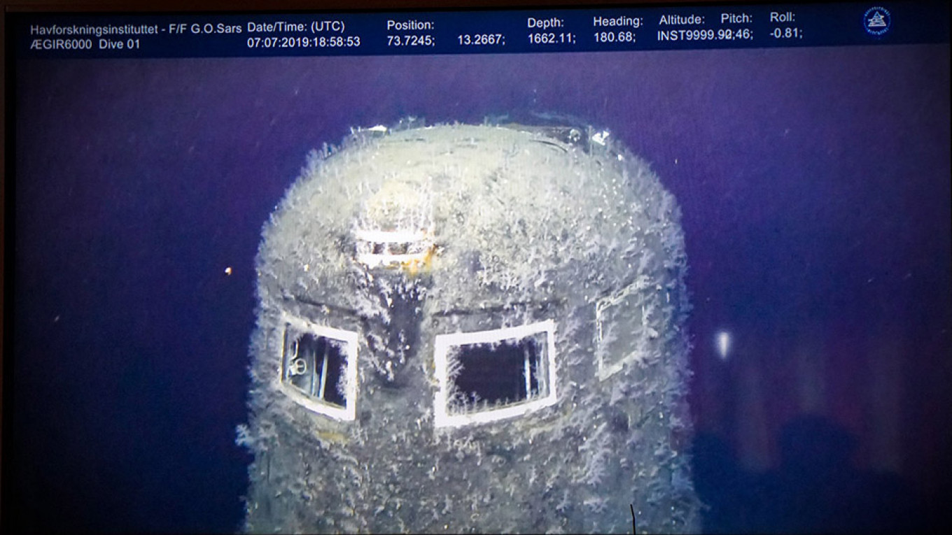 Russian Nuclear Sub Wreck's Radiation 100K Higher Than Normal, Norway Says