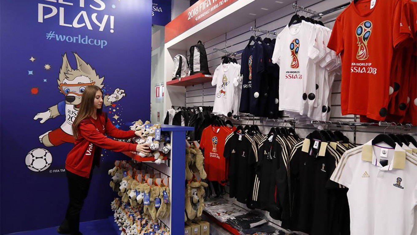13535d9d4b5 First Official World Cup Store Opens in Central Moscow