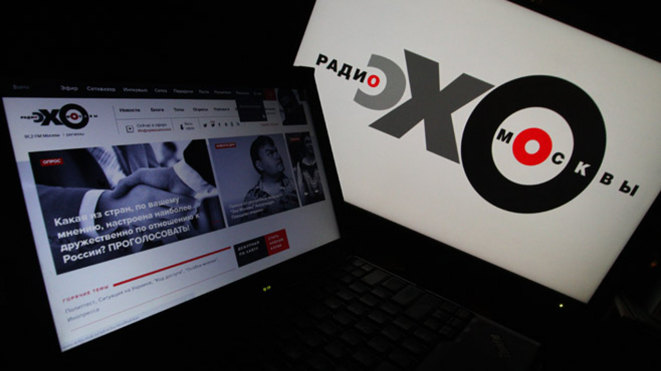 Independent Radio Station Ekho Moskvy's Founding Editor Quits Amid