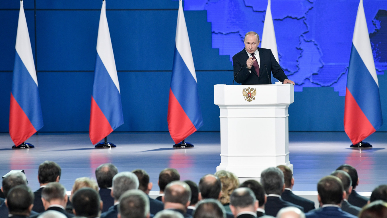 The Highlights of Putin's Federal Assembly Address - The