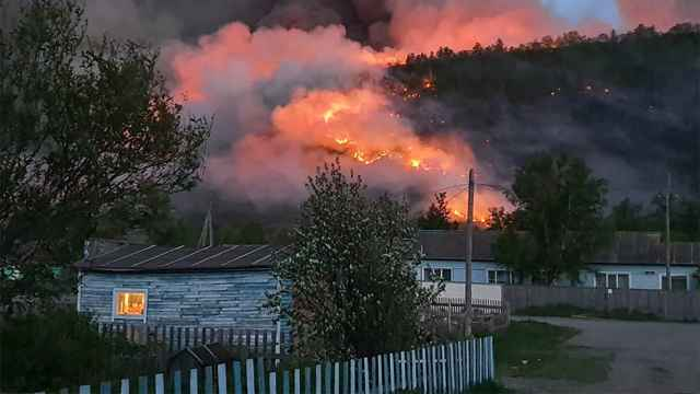 Siberian Wildfires Spread 17.5% in 24 Hours - The Moscow Times
