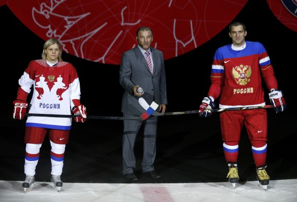 Microbead Pillow AC Team Russia Hockey Jersey Flag