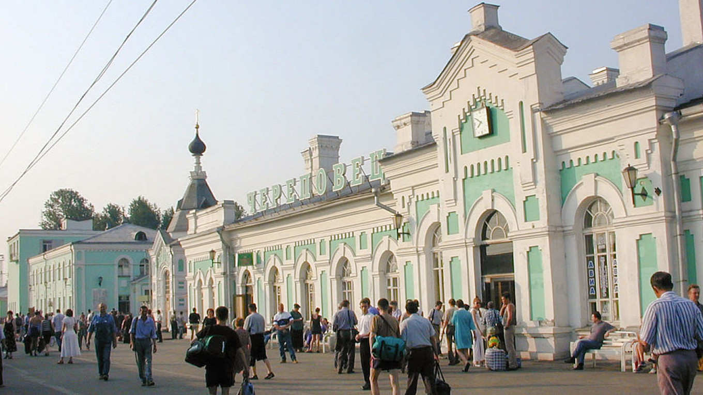 Железнодорожный вокзал в Череповце. Alexander Konovalov / Wikicommons