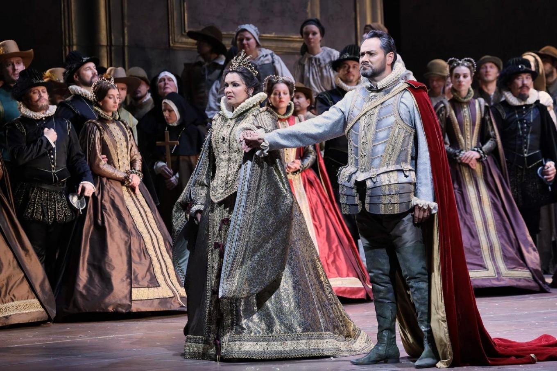 Сезон открылся оперой Верди «Дон Карлос» с Анной Нетребко и Ильдаром Абдразаковым